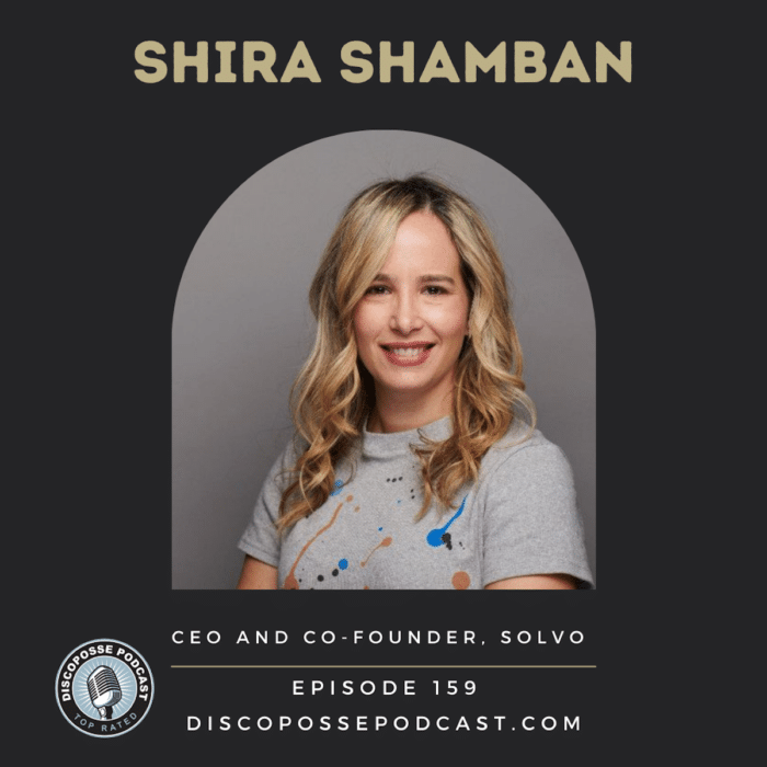 Ep 159 Shift Left Security and Successful Startup Team Building with Shira Shamban of Solvo