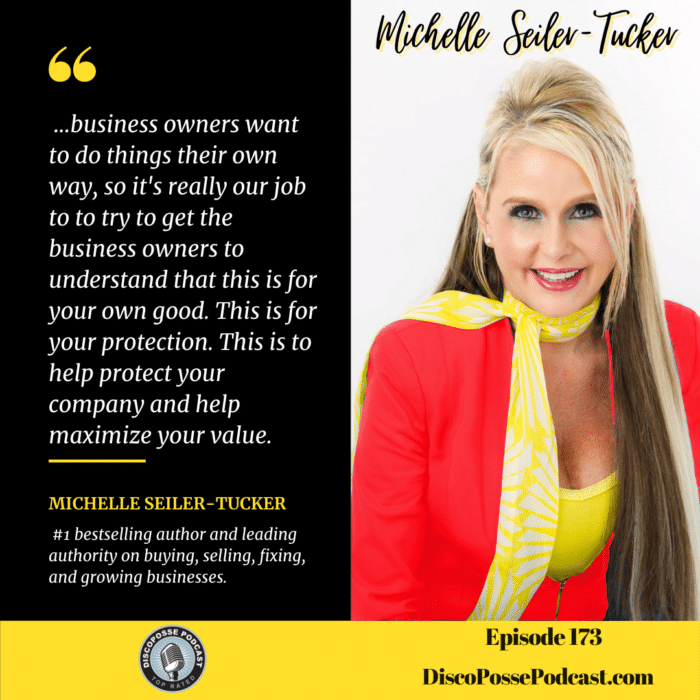 Ep 173- Michelle Seiler-Tucker on Her New Book Exit Rich and the Six P Method