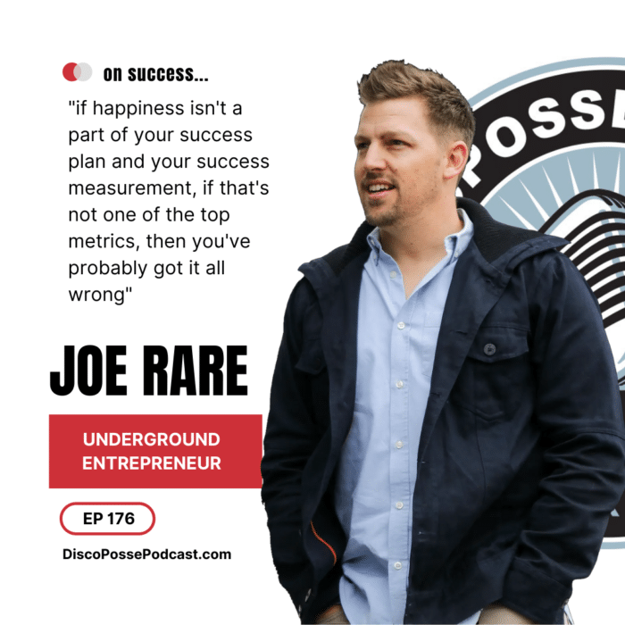 Ep 176 Joe Rare on Being and Underground Entrepreneur and How You Can Start Your Own Business