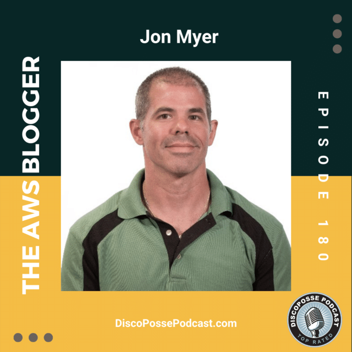 Ep 180 Jon Myer, the AWS Blogger, on Creating Content and Continuous Personal Reinvention